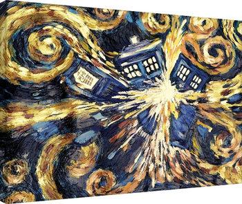 Tela  Doctor Who - Exploding Tardis