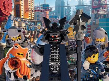 Tela  Lego Ninjago Movie - Garmadon Group