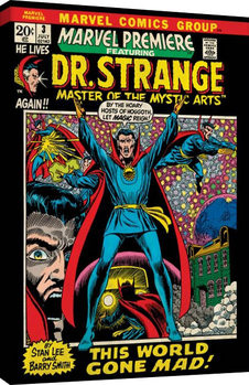 Tela  Marvel Comics - Dr Strange - World Gone Mad