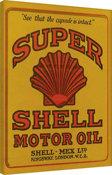 Tela  Shell - Adopt The Golden Standard, 1925