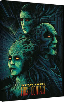 Tela Star Trek: First Contact - 50th Anniversary