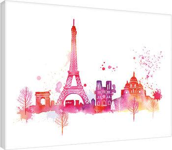 Tela  Summer Thornton - Paris Skyline