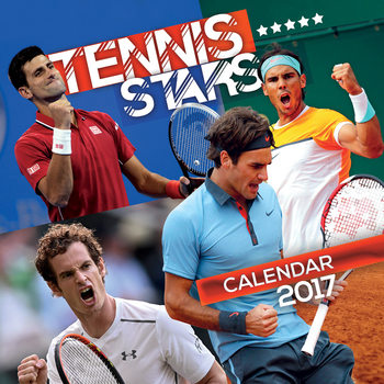 Calendar 2021 Tennis - Stars