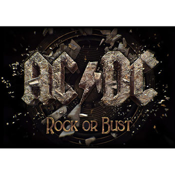 Textile poster AC/DC – Rock Or Bust