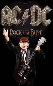 Textile poster  AC/DC – Rock Or Bust / Angus