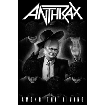 Textile poster Anthrax - Among The Living