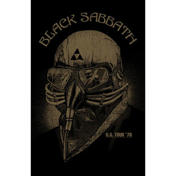 Textile poster Black Sabbath - Us Tour '78