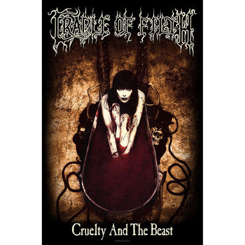 Textile poster  Cradle Of Filth - Cruelty And The Beast