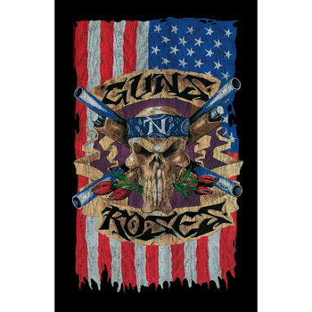 Textile poster  Guns N Roses - Flag