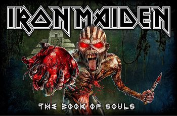 Textile poster  Iron Maiden - Book Of Souls