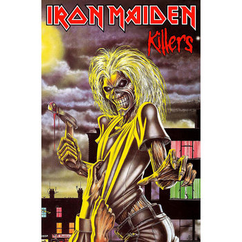 Textile poster Iron Maiden - Killers
