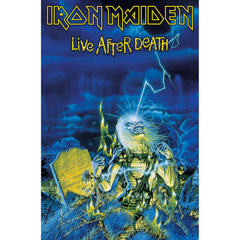 Textile poster  Iron Maiden - Live After Death