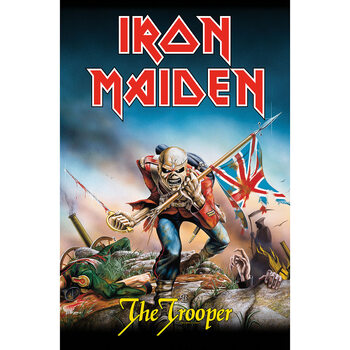 Textile poster Iron Maiden - The Trooper