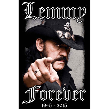 Textile poster  Lemmy - Forever