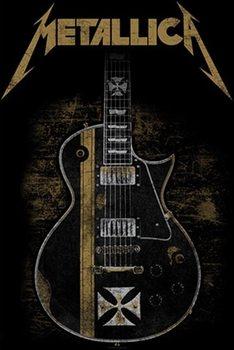 Textile poster  Metallica – Hetfield Guitar