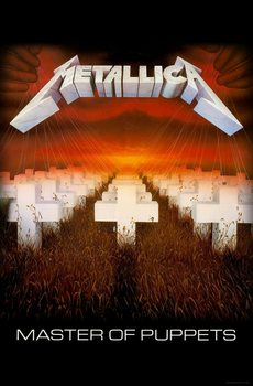 Textile poster  Metallica - Master Of Puppets