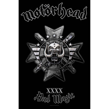 Textile poster Motorhead - Bad Magic