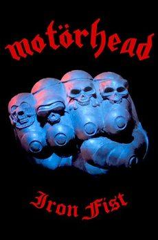 Textile poster  Motorhead – Iron Fist