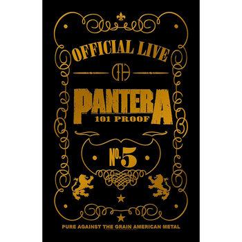 Textile poster  Pantera - 101 Proof