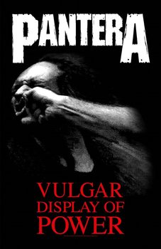 Textile poster  Pantera - Vulgar Display Of Power