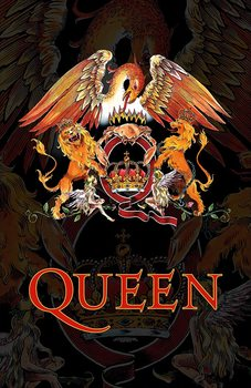 Textile poster Queen - Crest