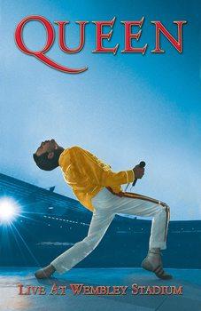 Textile poster Queen - Wembley