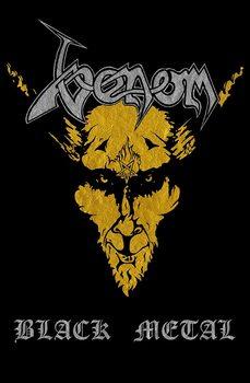 Textile poster Venom - Black Metal