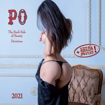 Calendar 2021 The Back Side of Beauty - PO!
