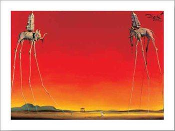 The Elephants, 1948 Reproduction d'art