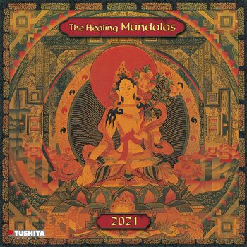 Calendar 2021 The Healing Mandalas