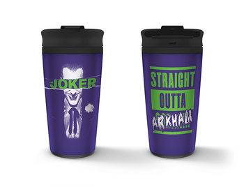 Travel Mug The Joker - Straight Outta Arkham