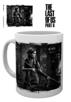 Mug The Last Of Us Part 2 - Black and White