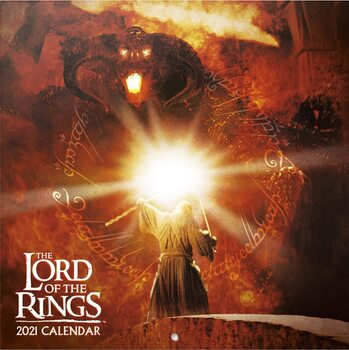 Calendar 2021 The Lord Of The Ring