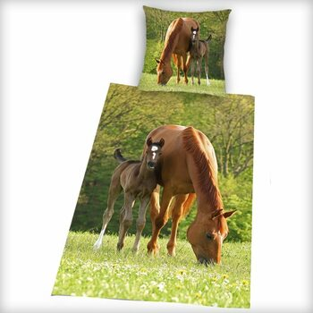 Bed sheets The Mare with Foal