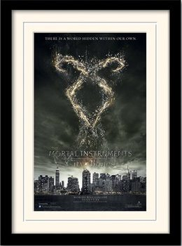 THE MORTAL INSTRUMENTS CITY OF BONES – rune  plastic frame