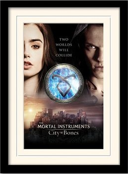 THE MORTAL INSTRUMENTS CITY OF BONES – two worlds  plastic frame