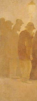 The Mouthful of Bread, Waiting in Line, study for 'Charity', 1892-1908 Taidejuliste