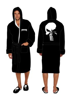 Bathrobe The Punisher