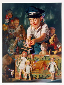 The Puppeteer Reproduction d'art