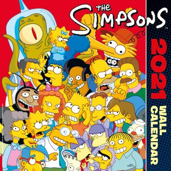 Calendar 2021 The Simpsons