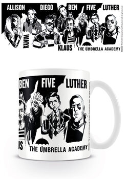 Caneca The Umbrella Academy - Sketch