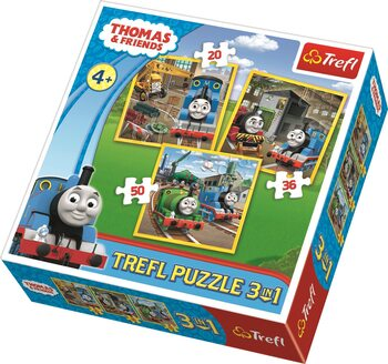 Palapeli Thomas and Friends: Thomas Goes into Action 3in1