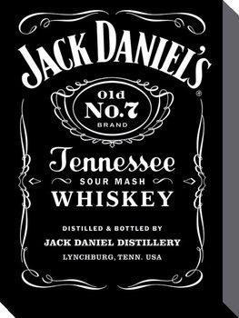 Jack Daniel's - Label Toile