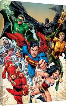 Justice League - Attack Toile