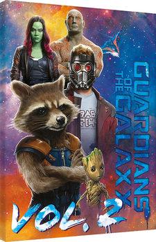 Les Gardiens de la Galaxie Vol. 2 - The Guardians  Toile