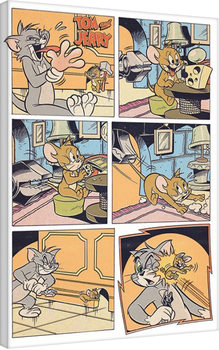Tom et Jerry - Panels Toile
