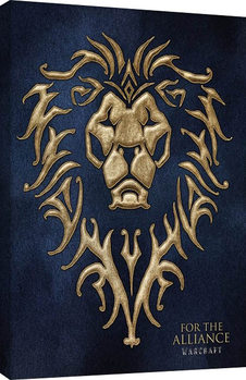 Warcraft : Le Commencement - For The Alliance Toile