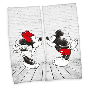 Towel Mickey Mouse and Minnie