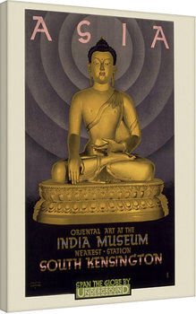 Transport For London- Asia, India Museum, 1930 Canvas Print