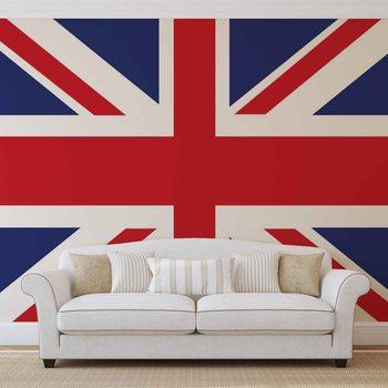 Valokuvatapetti Bandera Gran Bretaña Reino Unido